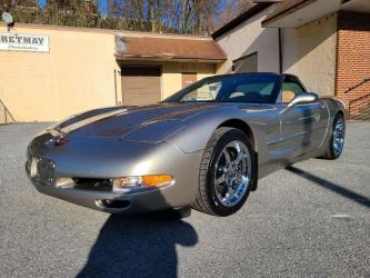 2002 CHEVROLET CORVETTE 2DR