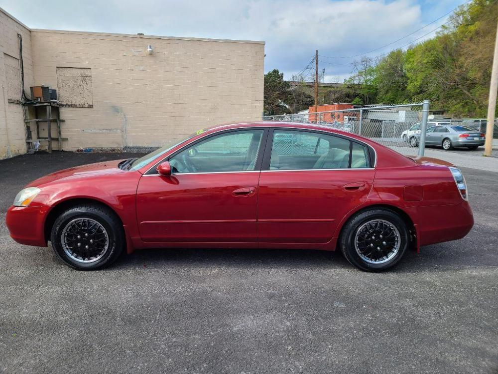 2004 RED NISSAN ALTIMA BASE (1N4AL11D04C) with an 2.5L engine, 4-Speed Manual transmission, located at 131 North Cameron Street, Harrisburg, 17101, (717) 257-0766, 40.266991, -76.875137 - Photo #1
